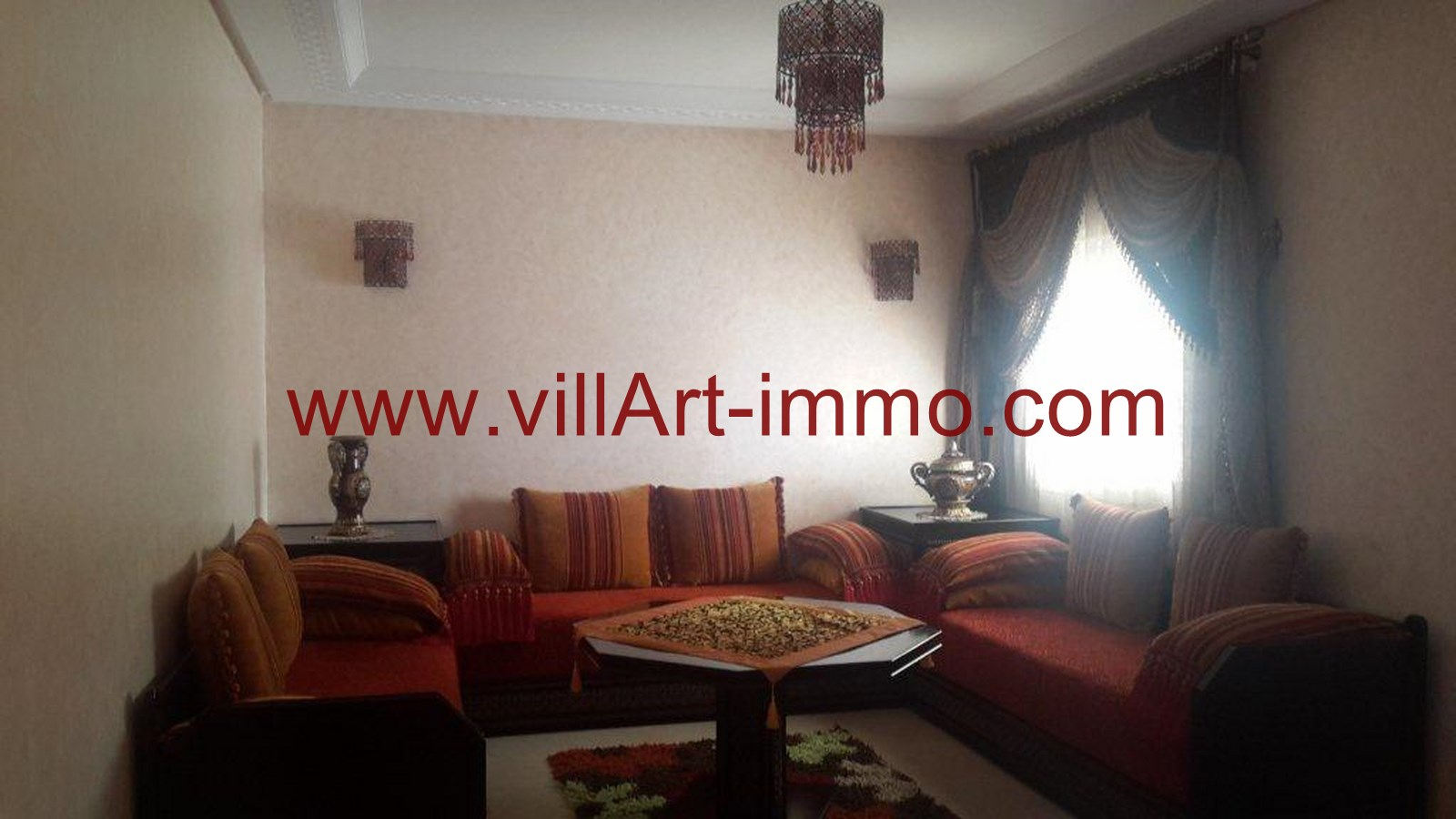 For rent furnished apartment in a secure residence 24h / 7j ...