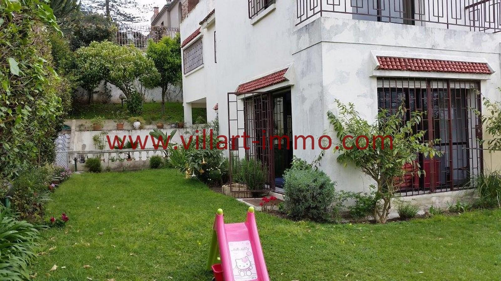 A vendre villa situ e dans le quartier california tanger for Agence jardin immobilier