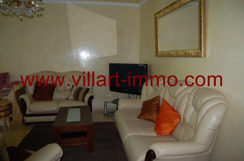 1 Location Appartement Meuble Tanger Centre Ville Salon  ...