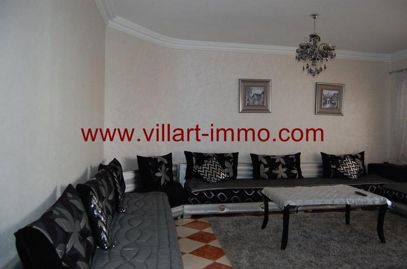 1 Location Appartement Meuble Tanger Salon L996 Villart  ...