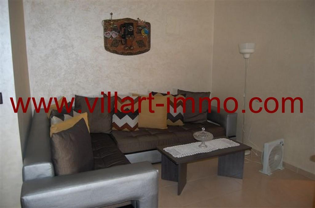 1 Location Appartement Meuble Val Fleuri Tanger Entree  ...