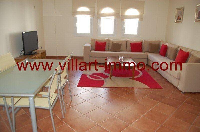 A Louer  Tanger Appartement Meubl Proche De La Plage  Villart
