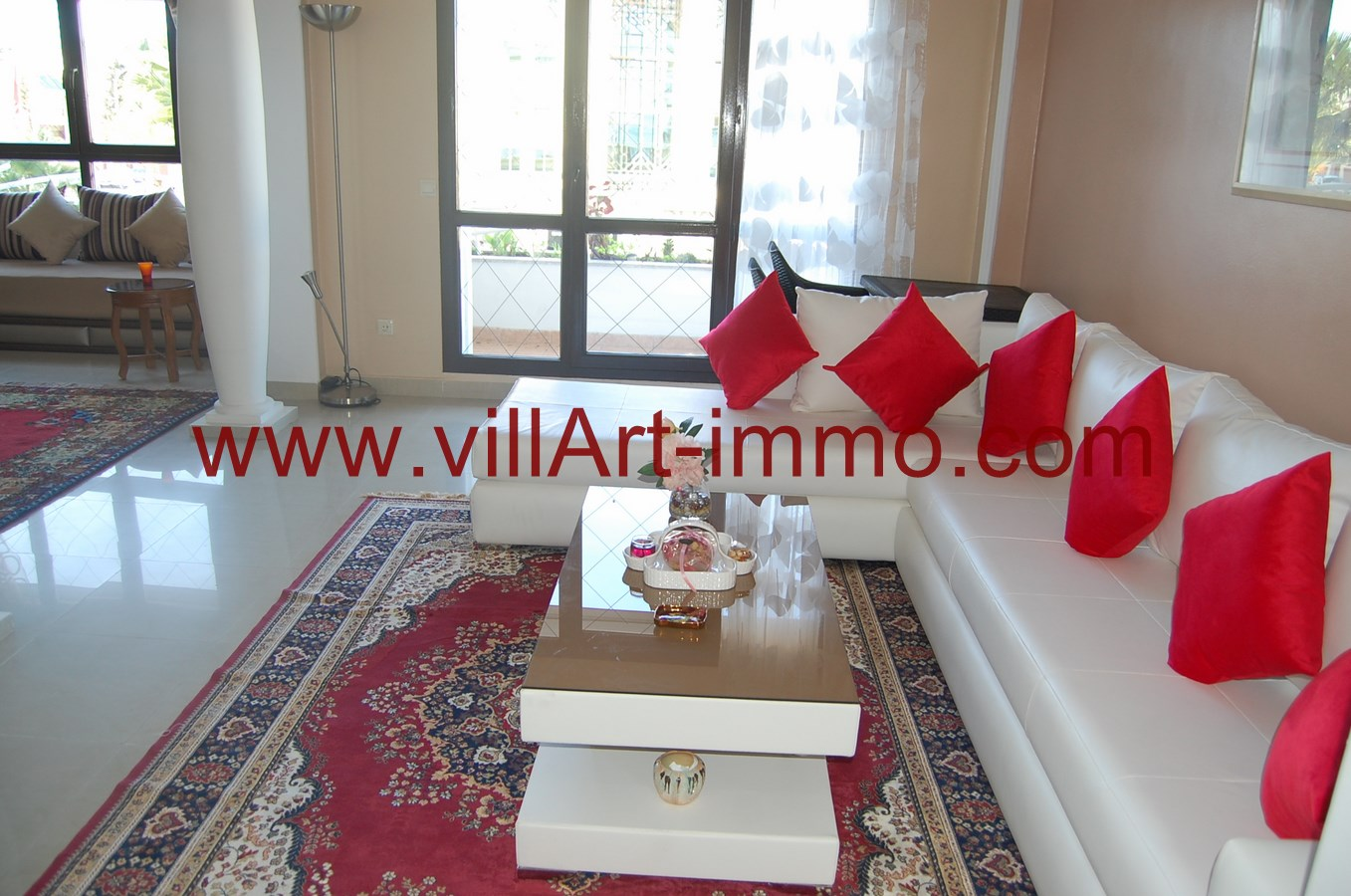 A vendre appartement f4 tanger quartier ibieria villart for Chambre de commerce tanger