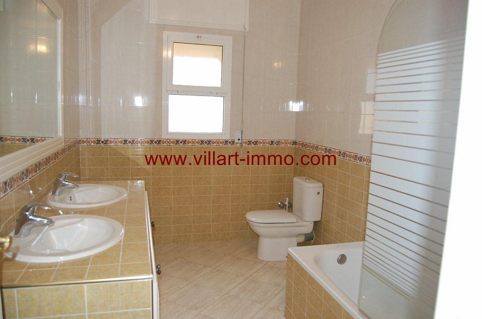 Belle Villa Non Meubl E Louer Tanger Quartier Malabata Villart