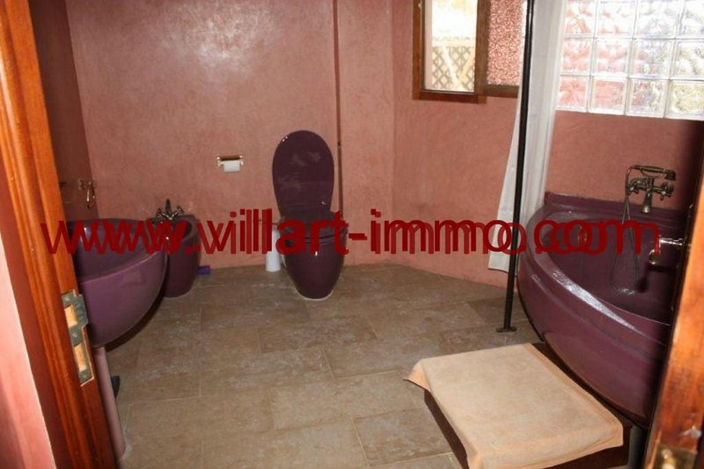 14-Location-Tanger-La montagne-Appartement-Meublé-Salle de bain-L978