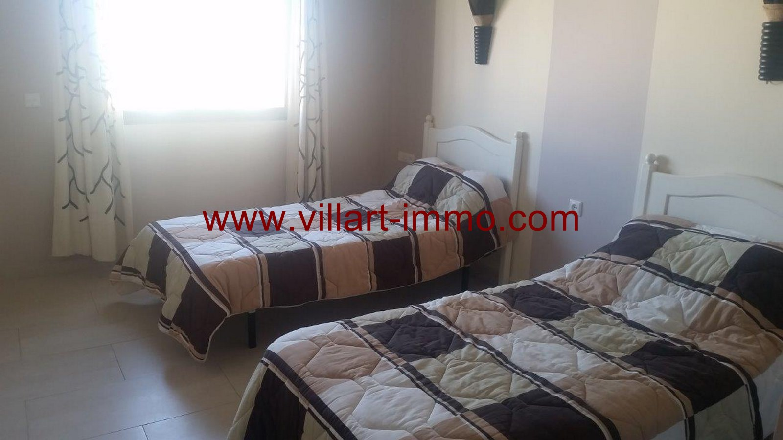 17-To Let-Villa-Furnished-Tangier-Bedroom 4-LSTV986-Villart-Immo