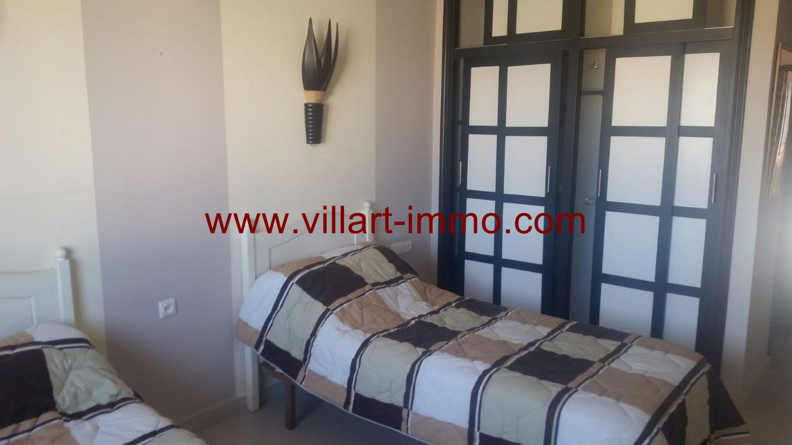 18-To Let-Villa-Furnished-Tangier-Bedroom 4-LV986-Villart-Immo