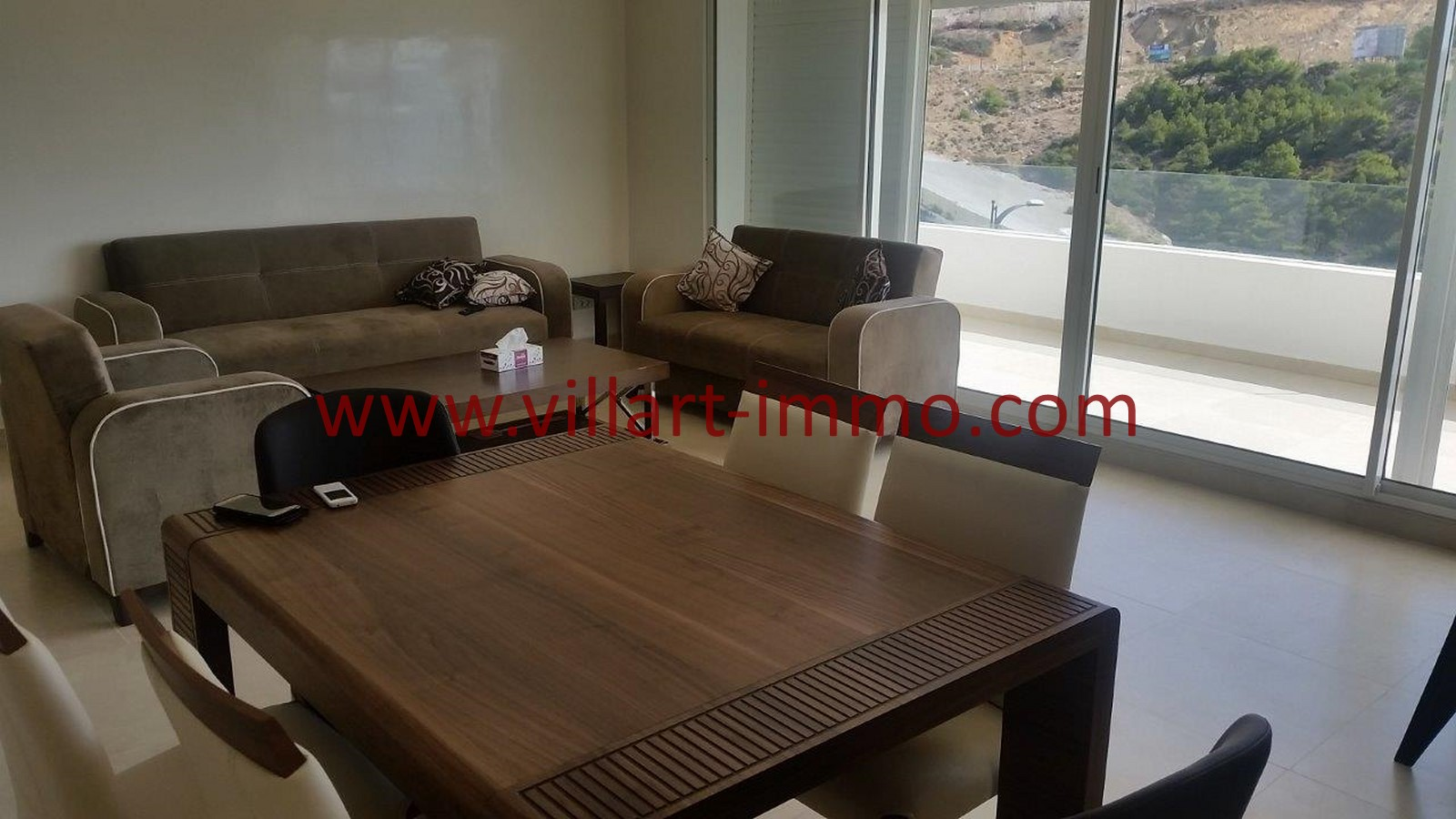 A louer tanger appartement meubl avec terrasse et vue - Spa terrasse appartement ...