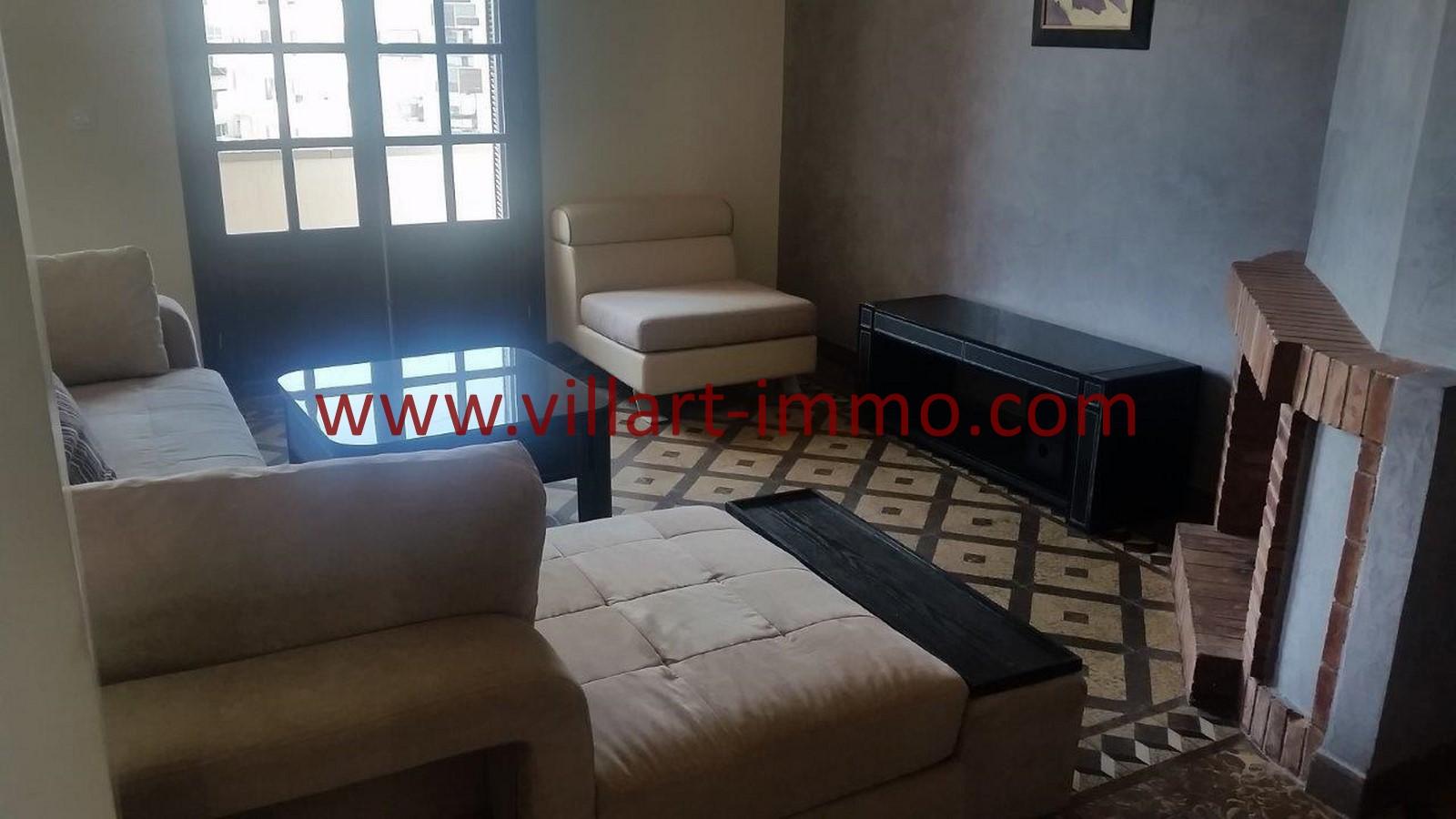 A louer tanger appartement meubl en plein centre ville for Location en meuble