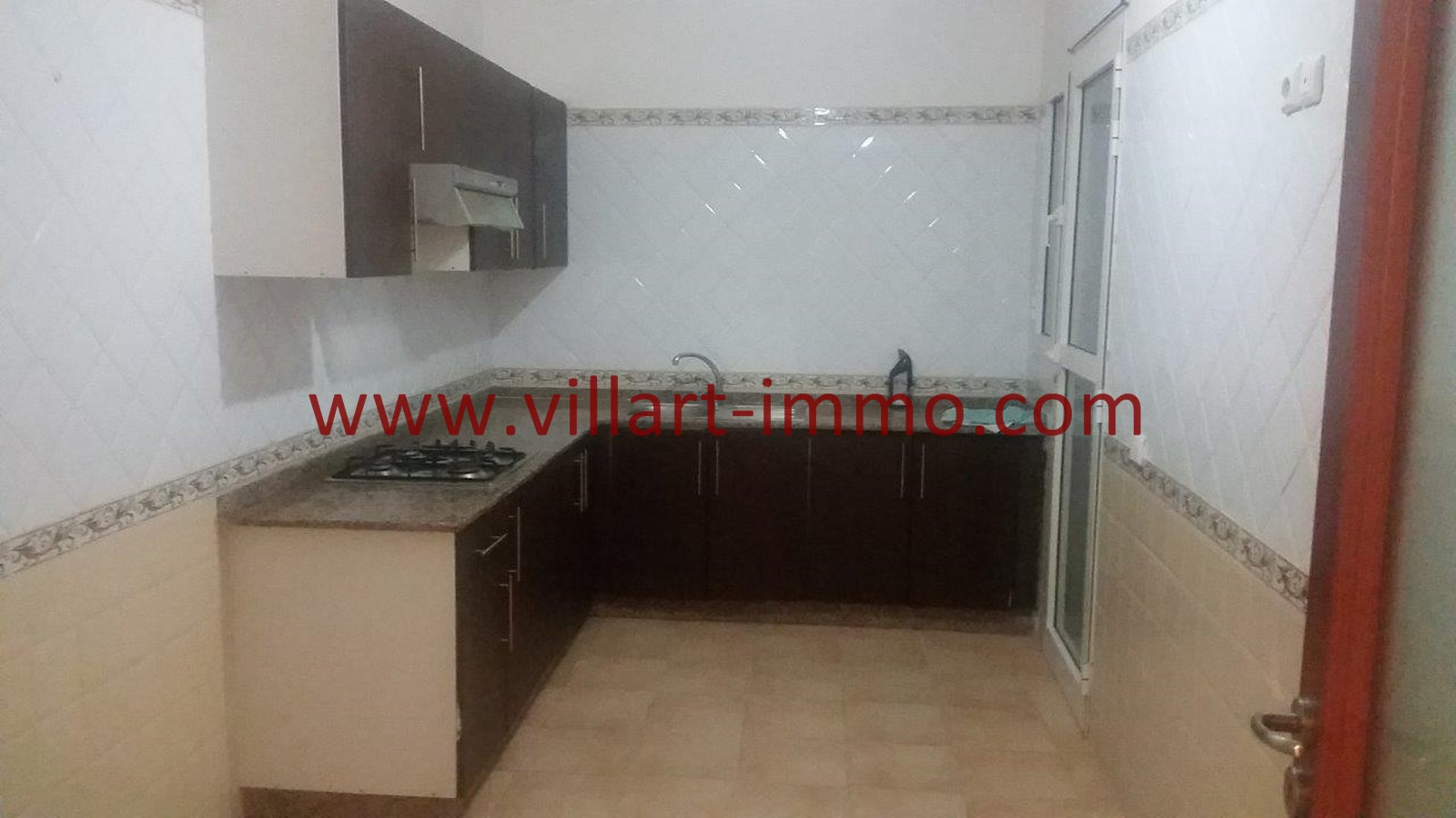 2-Location-Appartement-Non meublé-Tanger-Cuisine-L913-Villart immo