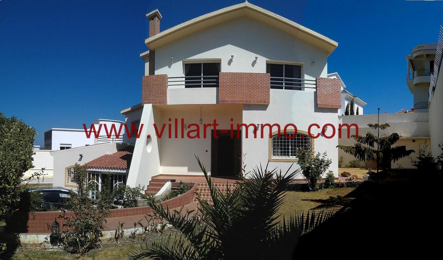A louer non meubl e villa de haut standing avec piscine for Villa a louer a casablanca avec piscine