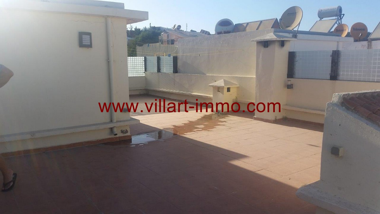 21-To Let-Villa-Furnished-Tangier-Terrace -LSTV986-Villart-Immo
