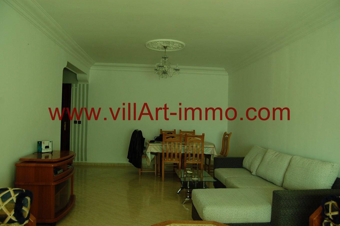 3-A louer-Appartement-Meublé-Tanger-Salon 2-L900-Villart immo