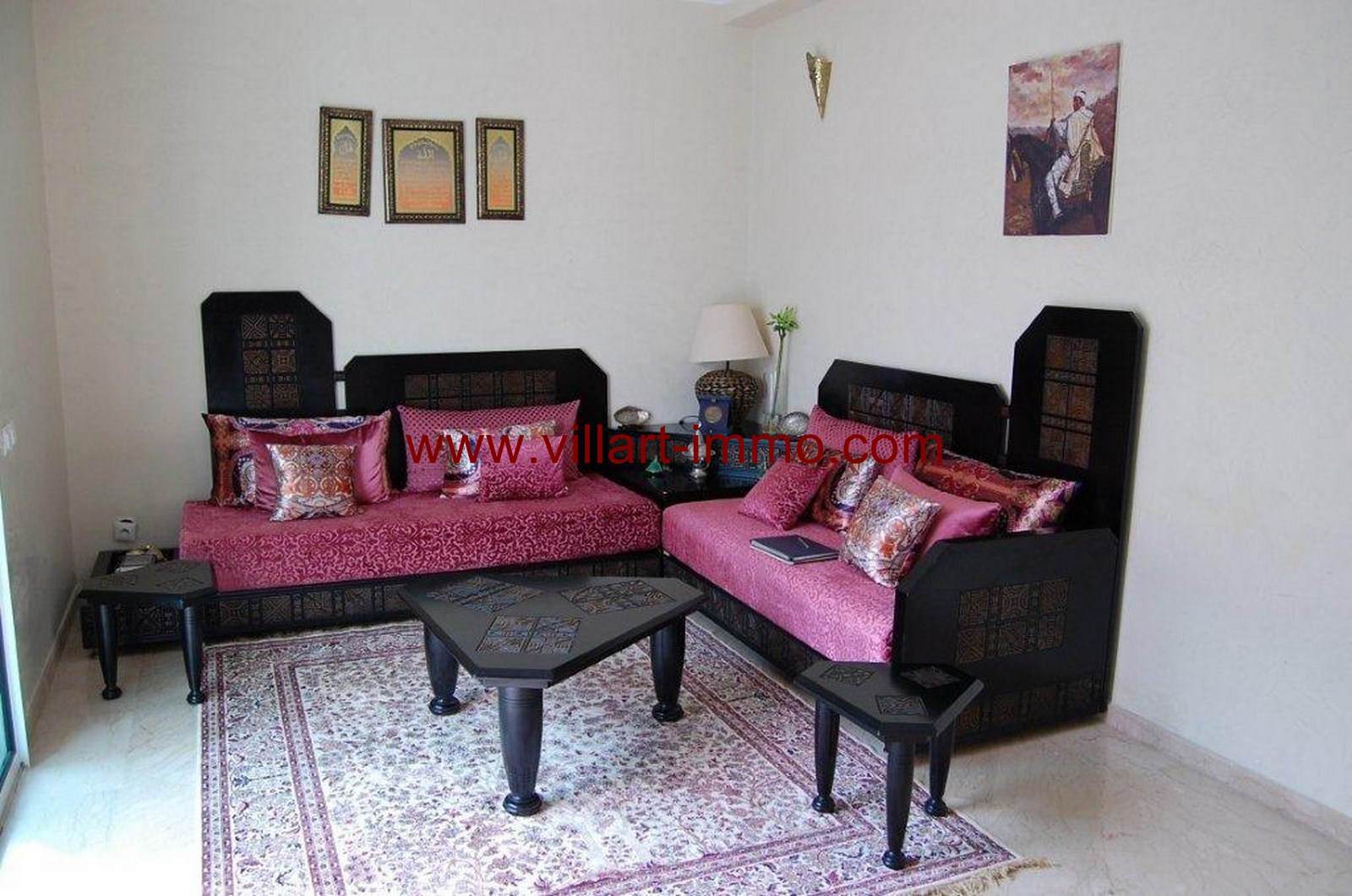 3-For-Sale-Villa-Tangier-Malabata-Dining-room-VV354-Villart Immo
