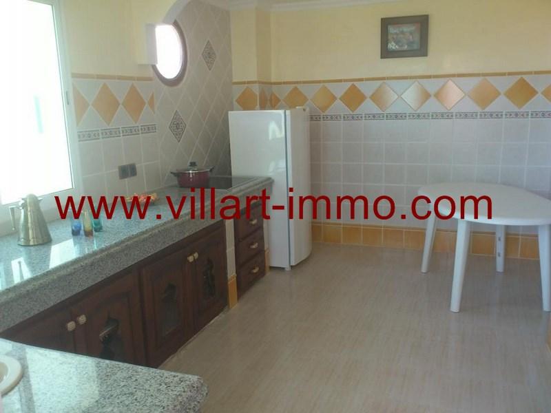 4-A louer-Appartement-Meublé-Assilah-Cuisine-L916-Villart immo