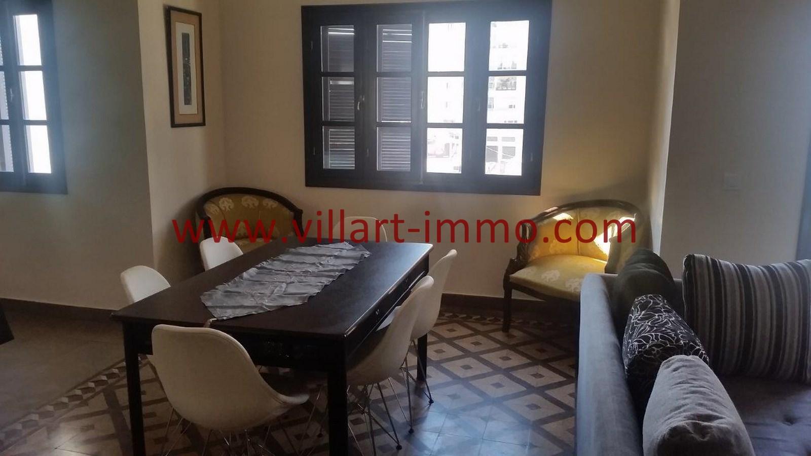 A louer tanger appartement meubl en plein centre ville for Appartement meuble a louer