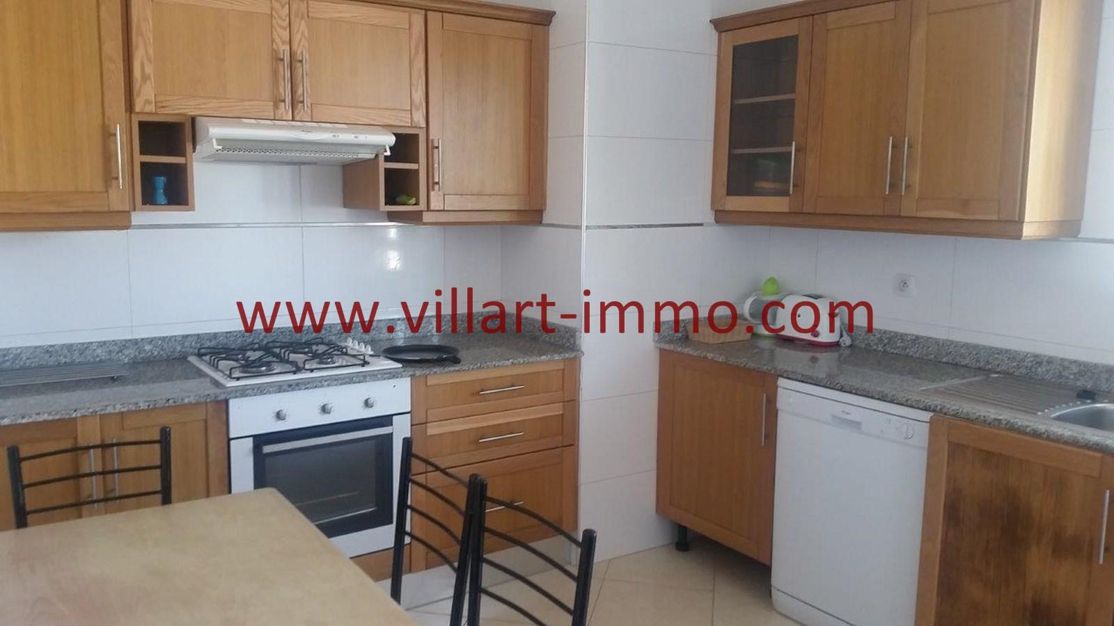 4-A louer-Appartement-Meublé-Tanger-Cuisine-L911-Villart immo