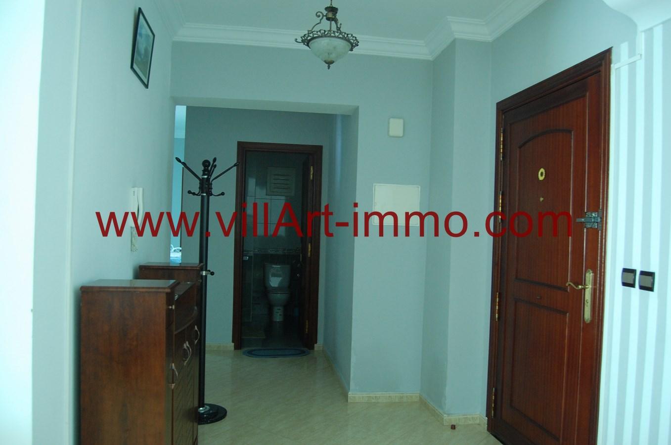 4-A louer-Appartement-Meublé-Tanger-Entrée-L900-Villart immo