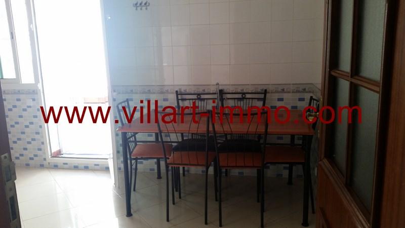 4-Location-Appartement-Meublé-Tanger-Malabata-Salle à manger-L915-Villart immo