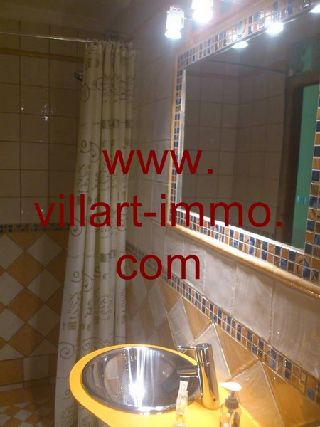5-A louer-Appartement-Meublé-Assilah-Salle de bain-L916-Villart immo