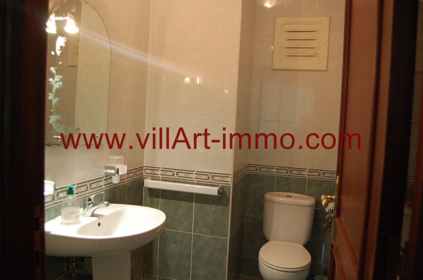 5-A louer-Appartement-Meublé-Tanger-Salle de bain-L900-Villart immo