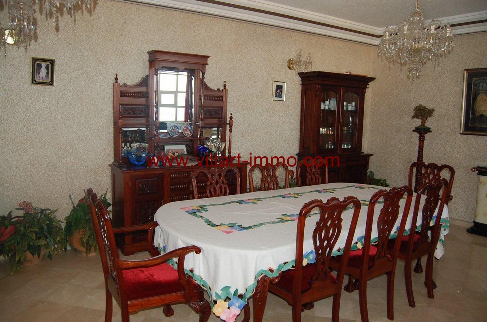 5-Location-Villa-Meublée-Tanger-Achakar-Salle à manger-LV910-Villart immo