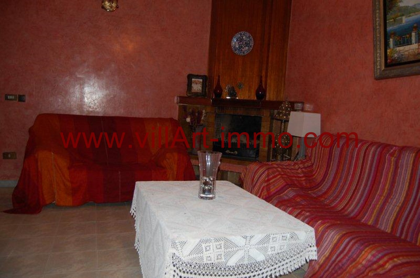 well furnished villa located in a very quiet area TANGER ...