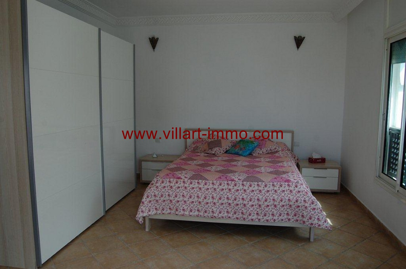 5-For-Sale-Villa-Tangier-Malabata-Bedroom 1-VV354-Villart Immo