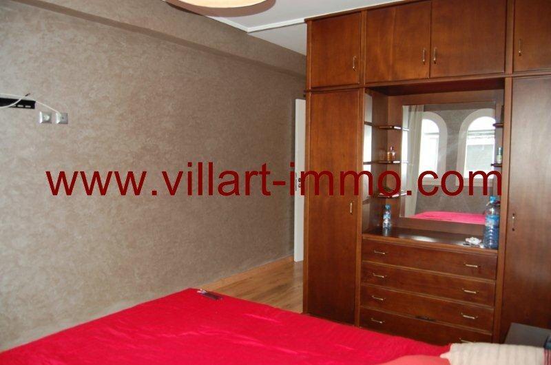 A louer appartement avec terrasse semi meubl tanger for Chambre de commerce tanger