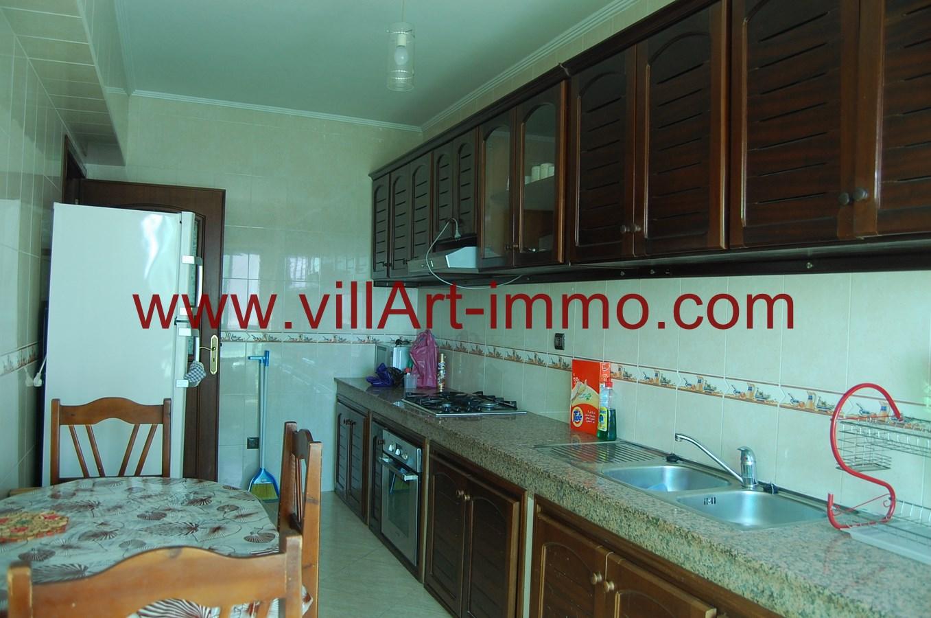 6-A louer-Appartement-Meublé-Tanger-Cuisine-L900-Villart immo