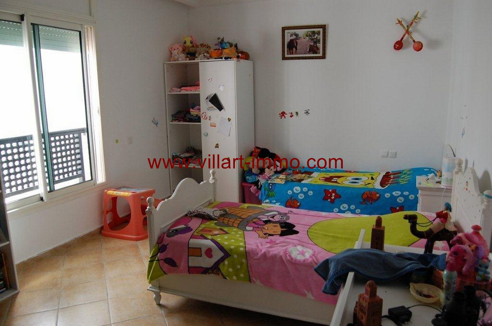 6-For-Sale-Villa-Tangier-Malabata-Bedroom 2-VV354-Villart Immo