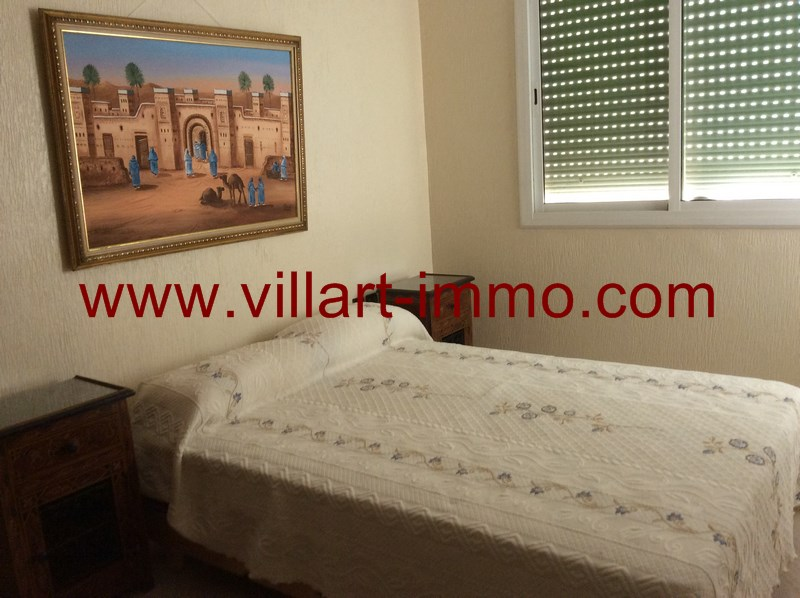7-A louer-Appartement-Meublé-Assilah-Chambre 2-L916-Villart immo
