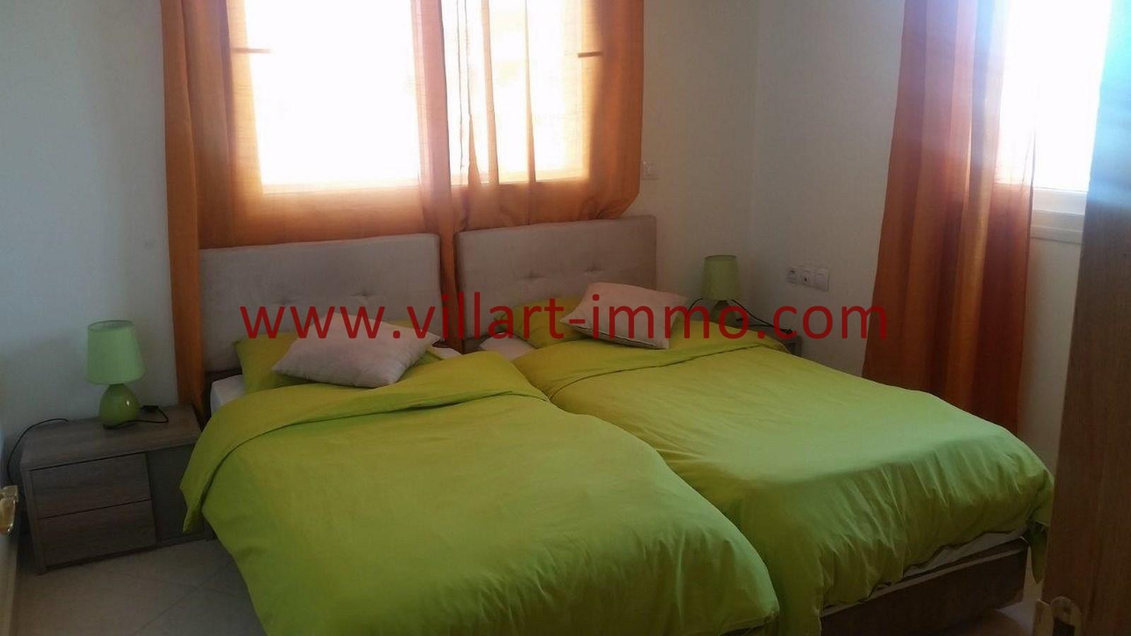 7-A louer-Appartement-Meublé-Tanger-Chambre 2-L911-Villart immo