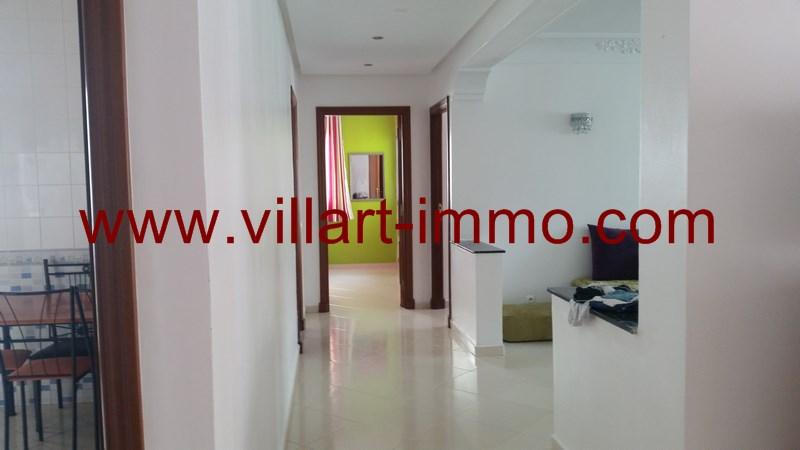 7-Location-Appartement-Meublé-Tanger-Malabata-Couloir-L915-Villart immo