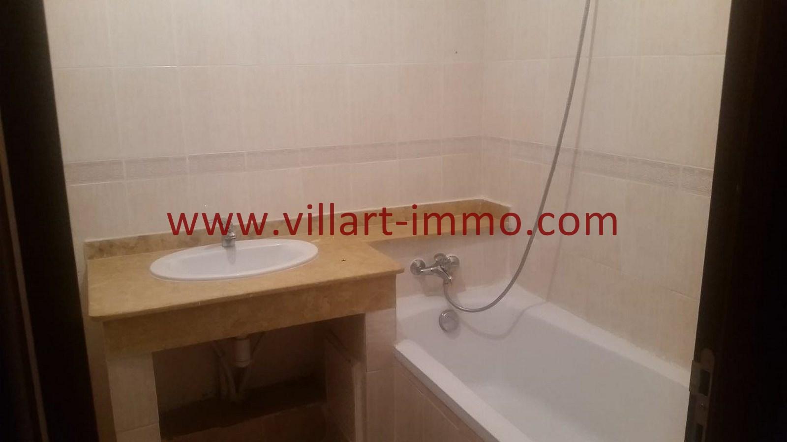 7-Location-Appartement-Non meublé-Tanger-Salle de bain 2L913-Villart immo