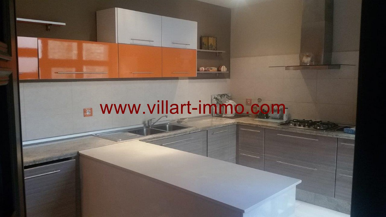 7-To Let-Villa-Furnished-Tangier-kitchen-LSTV986-Villart-Immo