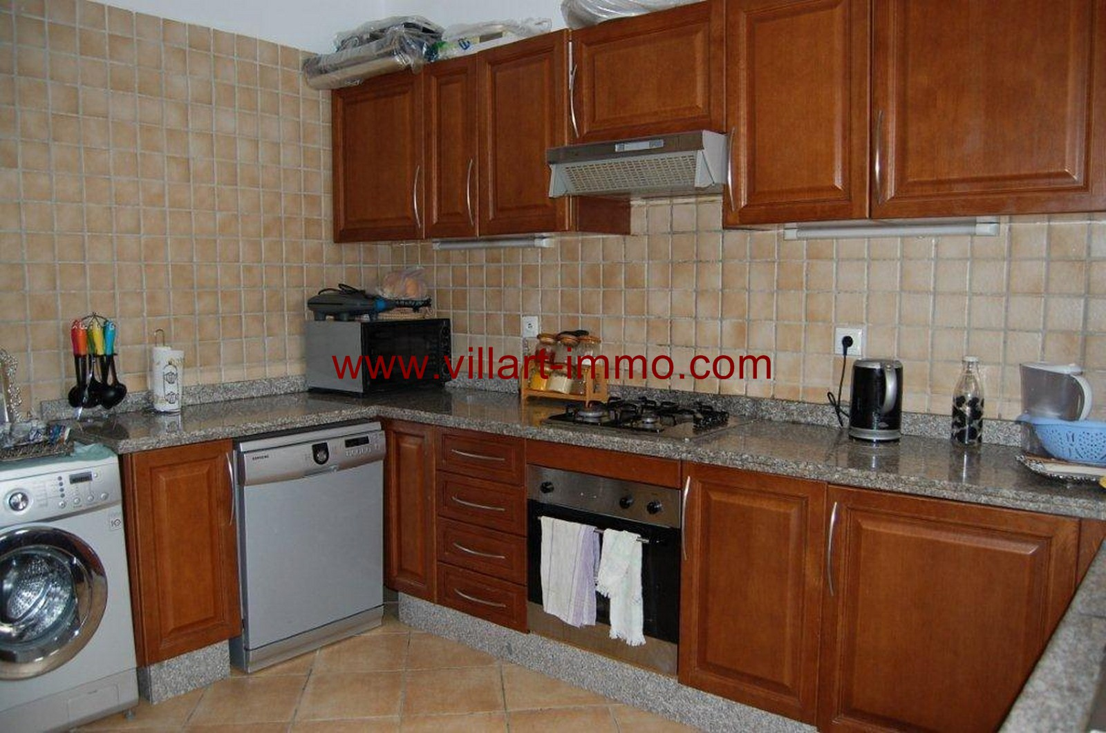 7-For-Sale-Villa-Tangier-Malabata-Kitchen-VV354-Villart Immo