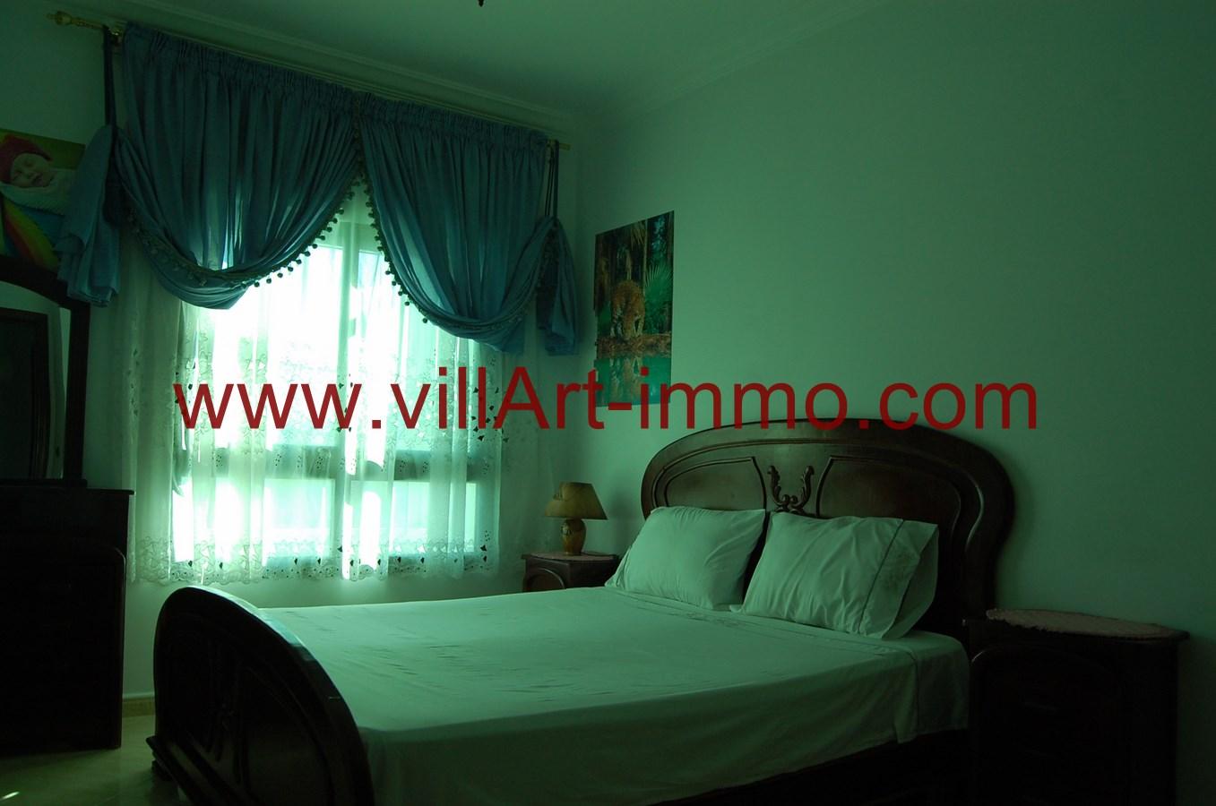 8-A louer-Appartement-Meublé-Tanger-Chambre 2-L900-Villart immo