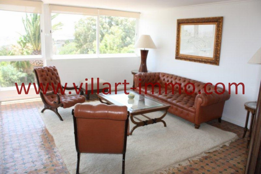 8-Location-Tanger-La montagne-Appartement-Meublé-Salon-L978