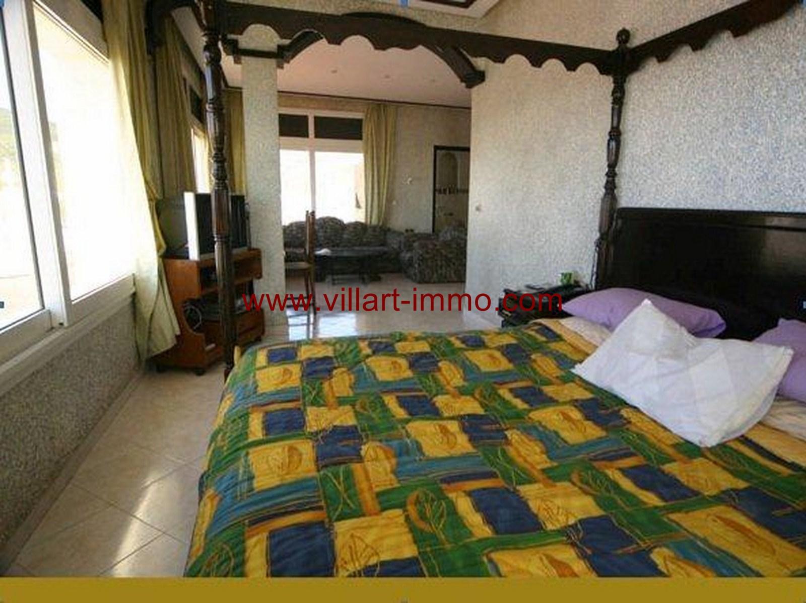 8-Location-Villa-Meublée-Tanger-Achakar-Chambre 1-LV910-Villart immo