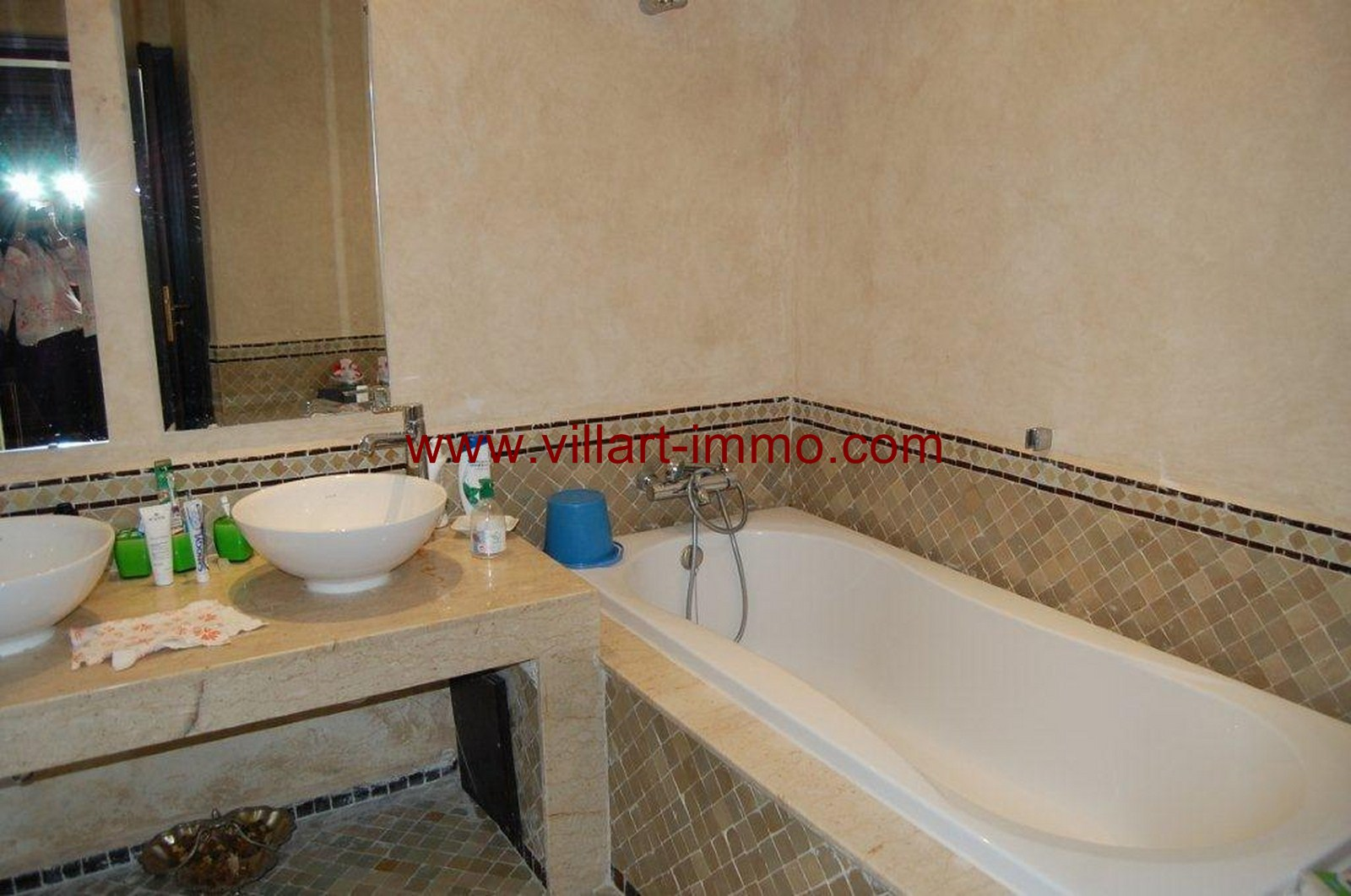 8-For-Sale-Villa-Tangier-Malabata-Bathroom 1-VV354-Villart Immo
