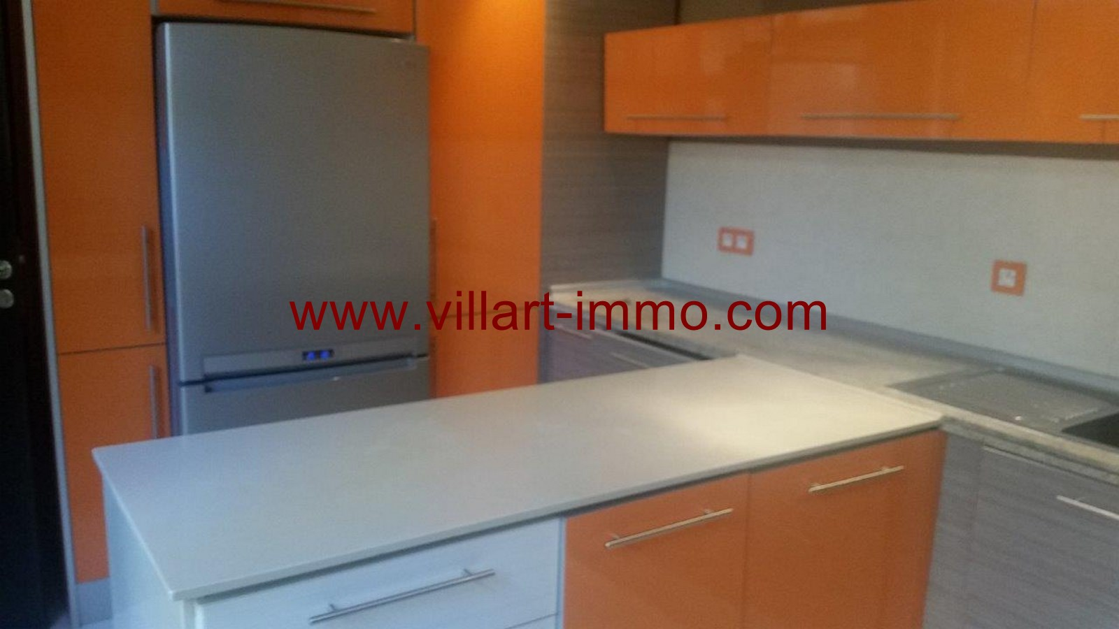 9-To Let-Villa-Furnished-Tangier-kitchen-LSTV986-Villart Immo