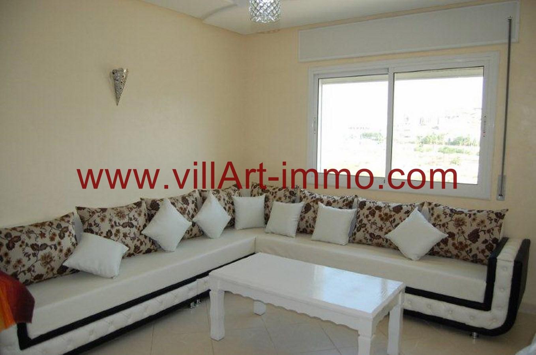 appartement louer meubl tanger route de t touan villart. Black Bedroom Furniture Sets. Home Design Ideas