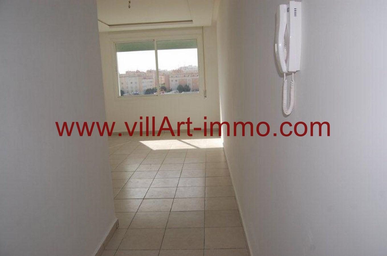 1-Location-Appartement-Non meublé-Tanger-Entrée-L733-Villart immo