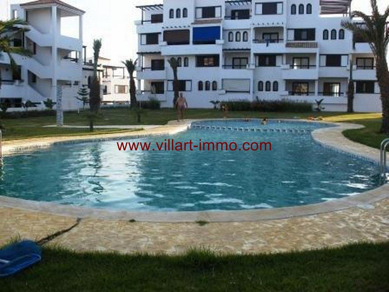 A vendre appartement meubl cabo negro avec vue sur for Appartement piscine