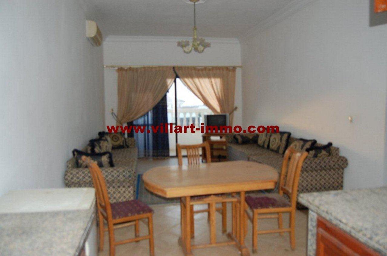 1-Vente-Appartement-Tanger-Achakar-Salon -VA469-Villart Immo