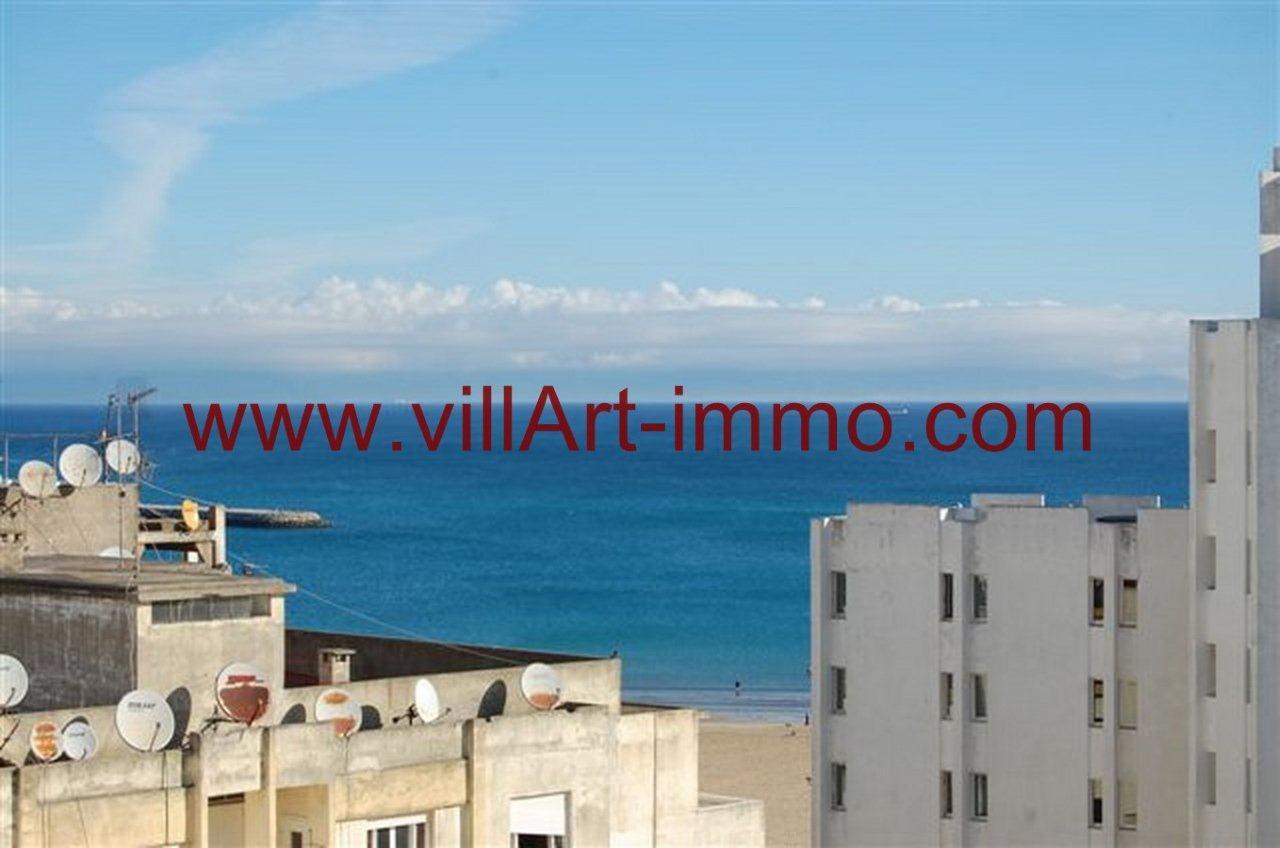 Appartement f4 sur la corniche de tanger avec vue mer for Appartement de ville