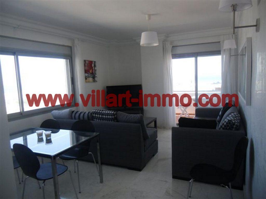 A vendre magnifique appartement meubl tanger avec vue for Vente de appartement