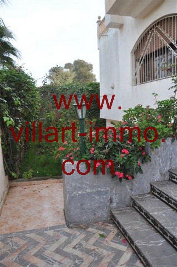 1-Vente-Villa-Tanger-California-Entrée-VV218-Villart Immo