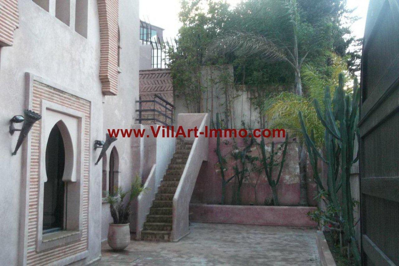 1-Vente-Villa-Tanger-California-Jardin-VV291-Villart immo